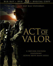 Act of Valor (Blu-ray/DVD, 2012,no Digital) Canadian in English alternate cover