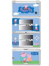 Peppa Pig Vinyl Skin Sticker for Nintendo DSi XL