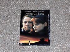 Stephen King's Dolores Claiborne DVD 1998 Snapcase Brand New Kathy Bates