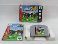 ISS 64 International Superstar Soccer 64 N64 Nintendo 64 Boxed Complete PAL