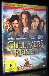 DVD GULLIVERS REISEN - TV-ZWEITEILER - TED DANSON + PETER O'TOOLE + NED BEATTY