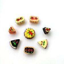 8 Stueck sortiert Geschmack Kirsche Kuchen Miniatur Puppenhaus