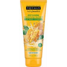 Freeman Deep Clearing Manuka Honey Tea Tree Oil Clay Mask Cleanser For Oily Skin