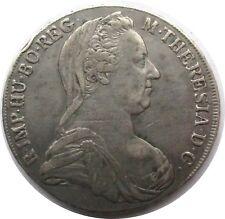 Österreich Maria Theresia Taler 1780, Prägung 18??, Silber