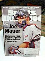 Sports Illustrated June 2009 Joe Mauer Minnesota Twins