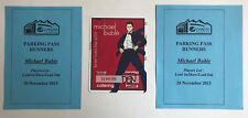 michael buble to be loved tour 2013 DENVER WORKING PASS STICKER BADGE Uber-Rare!