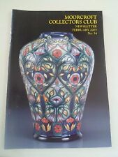 MOORCROFT Collectors Club Newsletter February 2003 No 34+Illustrated        §2
