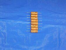 8 Vintage Wax Capacitor .1 mfd 200V for Tube Radio Guitar Tone Audio Amp Nos Usa