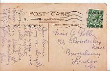 Genealogy Postcard - Family History - Gobl?? - Barnsbury - London  778A