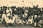 CARTE POSTALE / AVEYRON / CAMP DU LARZAC LA DISTRIBUTION DES LETTRES