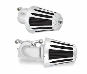 Arlen Ness Chrome Deep Cut Monster Sucker Air Cleaner Harley Touring TBW 08-16