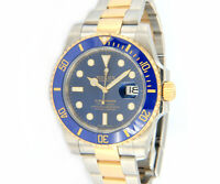 2016 Rolex Submariner 116613LB Blue Ceramic Bezel Mens Watch, w/ Papers