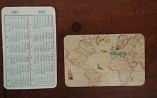 1978 1979 Vintage ROLEX Calendar Cosmograph CALENDARIO Milgauss Submariner GMT