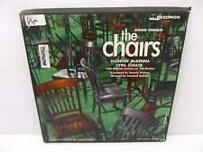 Eugene Ionesco The Chairs 2 Vinyl LP Set of Entire Play w/ Script Caedmon TRS323