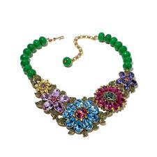 Heidi Daus Glorious Garden Necklace SWAROVSKI CRYSTALS BEAUTIFULLY MAGNIFICENT!