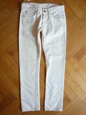 NUOVO orig. Mauro GRIFONI TUBI-jeans jeans a sigaretta bianco Tube LEG WHITE TG. 48 (M)