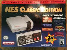 Nintendo NES Classic Edition Mini Modded w/ 900+ NES, Genesis, & SNES Games New!