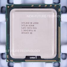Lot of 2 Intel Xeon W5580 3.2 GHz Quad-Core 8MB 6.4 GT/s LGA1366 CPU Processor