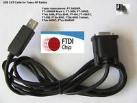 FTDI USB Cat Cable for Yaesu FT- 450 FT- 950 FT- 1000MP & FT- 1000MP Mk V 1.8M