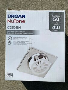 Broan-NuTone 50 CFM C350BN Replacement Motor Wheel for 696N