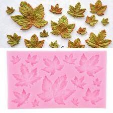 Diy Maple Leaf Silicone Fondant Mold Cake Decorating Chocolate Baking Mould Tool