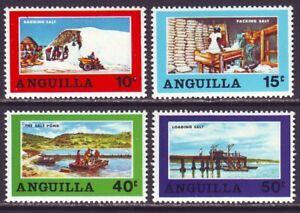 Anguilla 1969 SC 49-52 MH Set Salt Industry