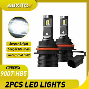 HB5 9007 LED Headlights 24000LM LED Lights Bulbs Kit High Low Beam Super Bright