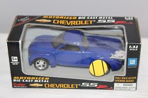 Boley Corp Die Cast 2000 Chevrolet SSR 1:32 Scale Blue In Original Unopened Box