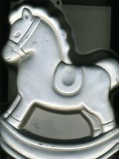 Rocking Horse - Discontinued Wilton Cake Pan with Paper Insert - 1984