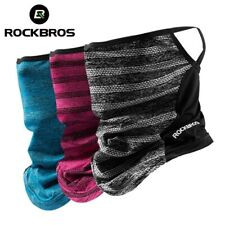 ROCKBROS Summer Outdoor Sport Ice Silk Neck Warmer Scarf Headband Face Mask