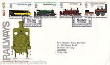 "1975 ferrocarriles-po-Shildon ""ticket"" gomígrafo"