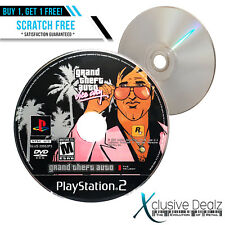 Grand Theft Auto: The Trilogy Sony PS2 2006 Video Game - Scratch Free Disc #XD12