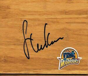 Golden State Warriors Steve Kerr Signed Floorboard COA 1