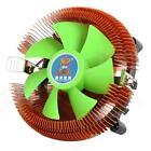 A10 A 4 pin PWM Ventola CPU di Raffreddamento & Copper dissipatore calore per