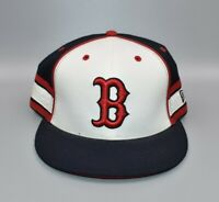 Boston Red Sox New Era 59FIFTY MLB Stripes Men's Fitted Cap Hat - Size: 7 1/2