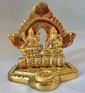 Lakshmi laxmi Ganesha Statues Hindu God Pooja Wealth Knowledge Diwali
