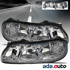 1997-2005 Chevy Malibu / Oldsmobile Cutlass Left Right Headlights Pair