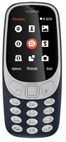 Nokia 3310 (2017) - Charcoal (Unlocked) Cellular Phone (Single SIM)