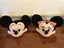 More details for vintage disney mickey and minnie hats from personal collection. 1970s