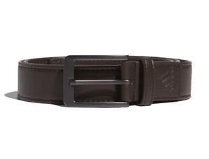 New Adidas Dark Brown Stretch Golf Belt - GJ7225