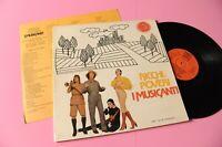 Ricchi E Poveri LP I Musicanti Orig Italy NM Gatefold Cover Ed Insert