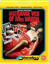 THE STRANGE VICE OF MRS. WARDH [Blu-ray] (1971) Sergio Martino Shameless Edition