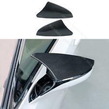 Carbon fiber color Rearview Mirrors Cover Trim Fit For Lexus UX ES LC LS RC RS