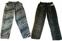 New Philadelphia Eagles Mens Size L Large Zubaz Pajama Lounger Pants
