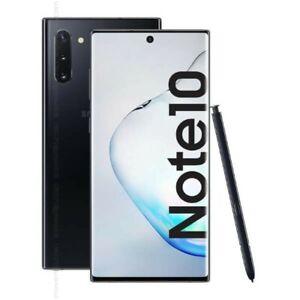 Samsung Galaxy Note10 SM-N970F/DS - 256GB - Aura Black - Dual Sim - Unlocked