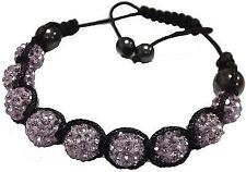 Light Purple Shamballa Bracelet