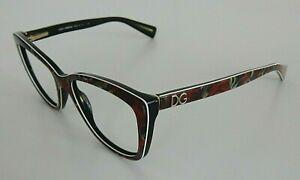 Dolce*Gabbana Eyeglasses RX Frames 52[]16 140 3190 2938 Roses