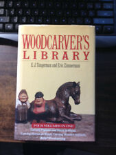 Woodcarver's Library by E.J. Tangerman & Eric Zimmerman 1st HCDJ Ex Reprint