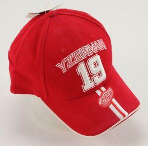 Detroit Red Wings Steve Yzerman TEAM ISSUED Hat