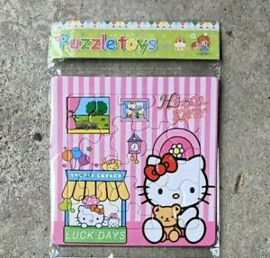 3 x New 12 Pieces Hello Kitty Jigsaw Lovely Puzzle Best Gifts Toys for Kids